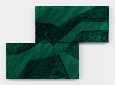 Mary Heilmann, Glassy Lineup, 2018