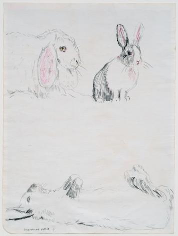 Karen Kilimnik, Hypnotised Rabbit, 1983