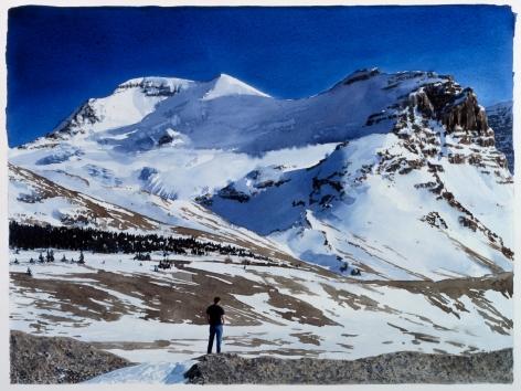 Tim Gardner, Untitled (Figure in a Melting Snowfield), 2002