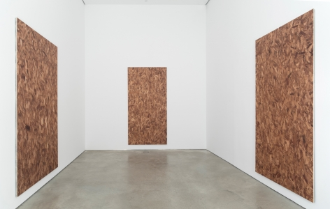 Installation view: PROJECT ROOM: Jacob Kassay, 303 Gallery, New York, 2021