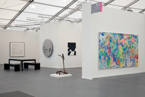 Frieze New York, 2013, 303 Gallery, Stand B61