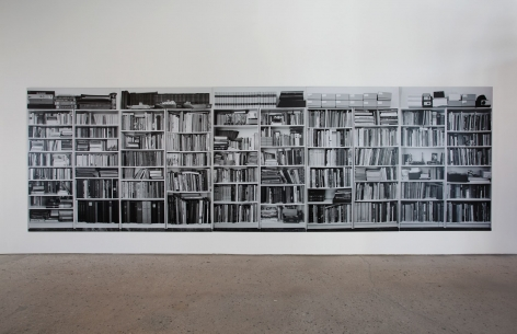 Hans-Peter Feldmann, bookshelves