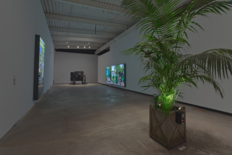 Rodney Graham, Torqued Chandelier Release and Other Works, Installation view: Morris and Helen Belkin Art Gallery, Vancouver, 2014