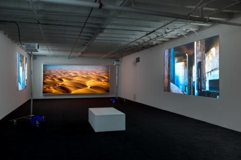 Doug Aitken, diamond sea, 1997, MOCA Los Angeles, 2016