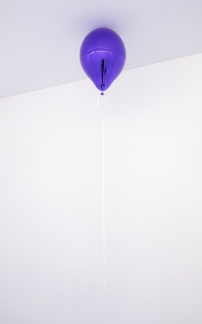Jeppe Hein, One Wish for You (violet)