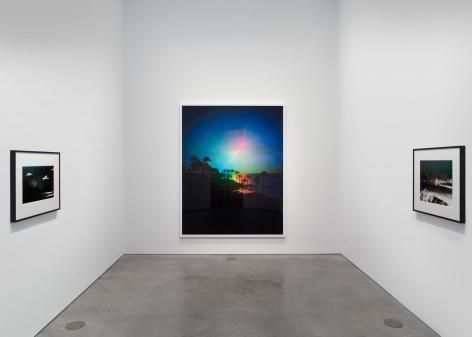 Installation view:Florian Maier-Aichen, 303 Gallery, New York, 2020