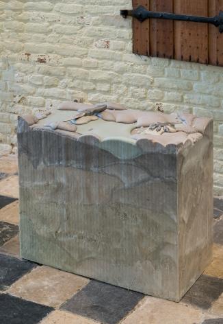 Marina Pinsky, Not yet titled (Foam Blocks 1-10), 2017