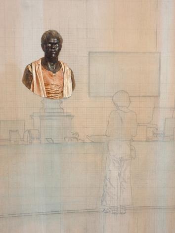 Esteban Jefferson, Billetterie (detail)