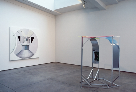 Installation view: Caught, 303 Gallery, 1999
