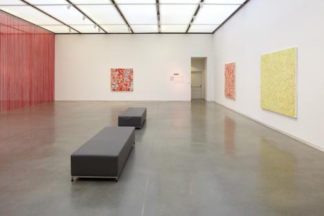 Sue Williams, Installation view: Figuring Color, ICA, Boston, 2012