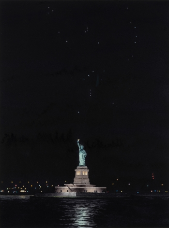 Tim Gardner, Statue of Liberty and Orion, 2018