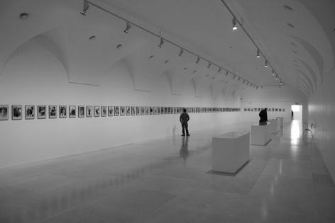Hans-Peter Feldmann, 100 Years, Installation view: Museo Nacional Centro de Art Reina Sofía, Madrid, 2010