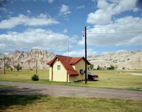 Stephen Shore, Badlands National Monument, South Dakota, July 14, 1973