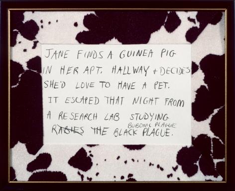 Karen Kilimnik, Jane Creep (Guinea Pig), 1990