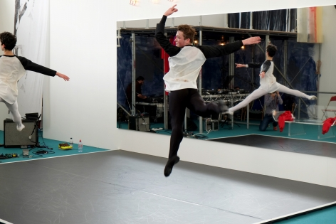 Nick Mauss,1NVERS1ONS, A Ballet for Frieze Projects, 2014
