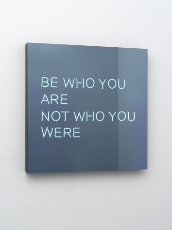 Jeppe Hein, BE WHO YOU ARE NOT WHO YOU WERE, 2014