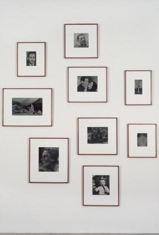 Thomas Ruff, Newspaper Photos, 1990, 303 Gallery, 1991