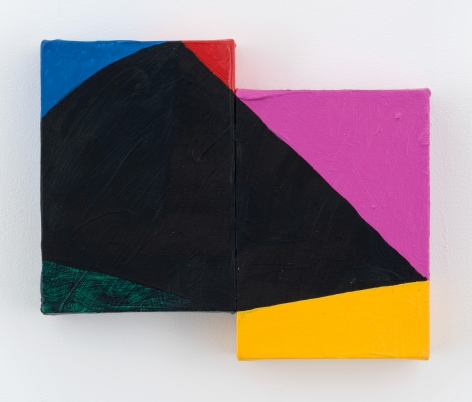 Mary Heilmann, Psychedelic Night Wave, 2017