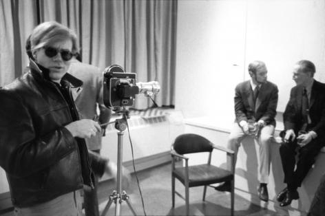 Stephen Shore, Andy Warhol, Sam Green, Marcel Duchamp, Cordier Ekstrom Gallery, 1965-1967