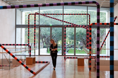 Eva Rothschild, Why Don't You (Dallas), 2012 Installation view:  Nasher Sculpture Center, Dallas, 2012
