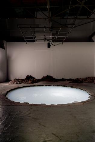 Doug Aitken, Sonic Fountain II, 2013/2015, MOCA Los Angeles, 2016