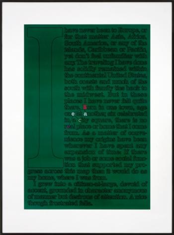 Larry Johnson, Untitled (Fella), 1989