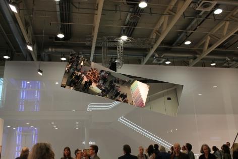 Jeppe Hein, Installation view: Art Basel   Art Unlimited 2015