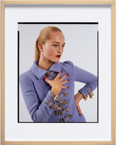 Elad Lassry, Untitled (Assignment, Purple Buckle Jacket 2)