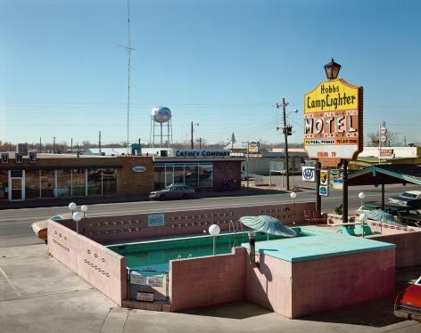 Stephen Shore, Marland Street, Hobbs, New Mexico, February 19, 1975