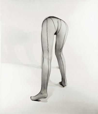 Fishnet Stocking Nude, New York, Erwin Blumenfeld, 1944-45