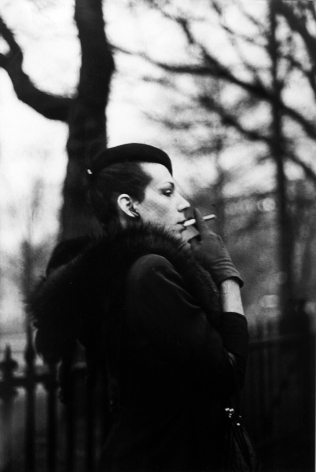 Ivy in the Boston Garden, Boston, Nan Goldin, 1973