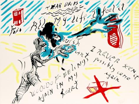 """Feelings"" interpreted by Nina Simone, Rafael Yaluff, 2017"
