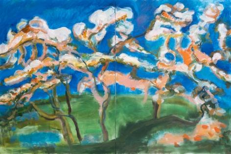 Above the Garden, Gina Rorai, 2020
