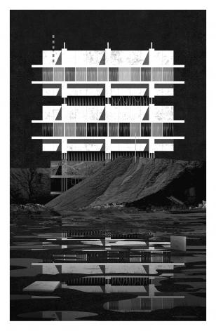 Sentinel Tower Study, Miles Gertler, 2020