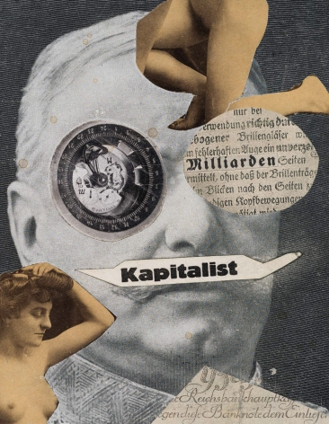 Kapitalist, Erwin Blumenfeld, 1923-24