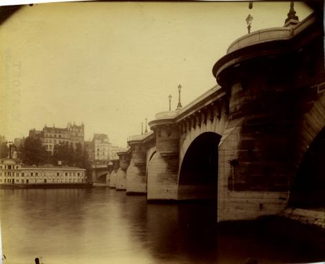 Pont Neuf, Eugène Atget, 1900