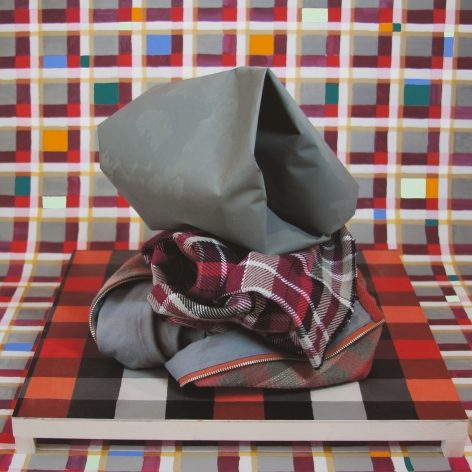 Red and Grey Stack 1, Michelle Forsyth, 2014/2020