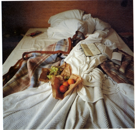 My Bed, Hotel La Louisiane, Paris, Nan Goldin, 1996