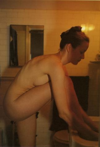 Geno in my bathroom, NYC, Nan Goldin, 1996