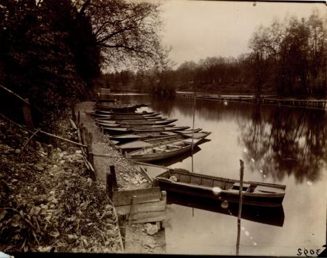 Bords de Marne, Charenton, Eugène Atget, 1898-1899
