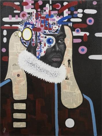 Portrait #1, Christian Butterfield, 2017