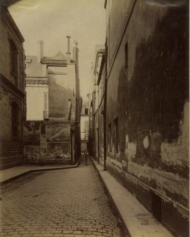 Rue de Moussy, 4e, Eugène Atget, 1899-1900