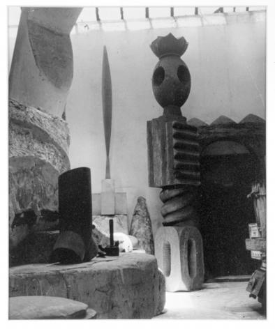 The Atelier, Constantin Brancusi, circa 1930s