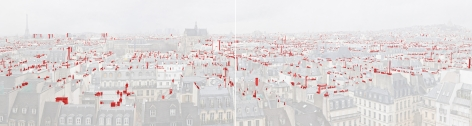Miguel Angel Garcia Paris diptych