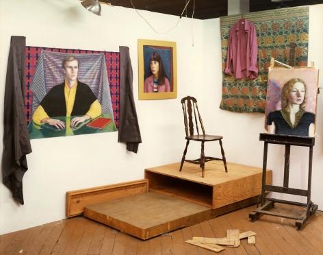 David Graham Marge Gapp's Studio, Philadelphia, PA, 1979