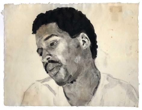 Darrel Ellis Unitled ink and charcoal on paper