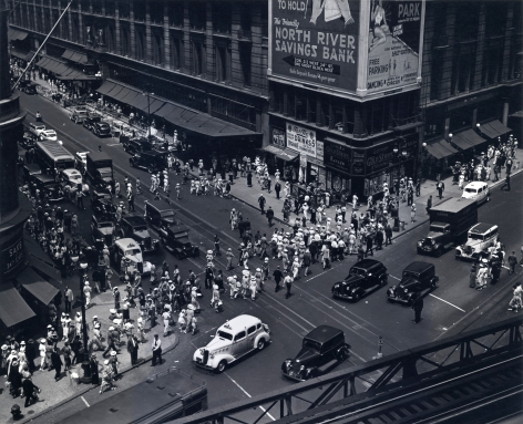 Berenice Abbott Herald Square, 34th St., 1936