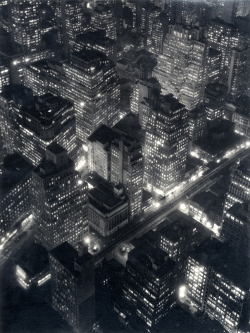 Berenice Abbott New York at Night, 1932