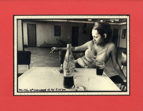Danny Lyon Mary Santa Mara, Columbia, Continental, Florida, 1972