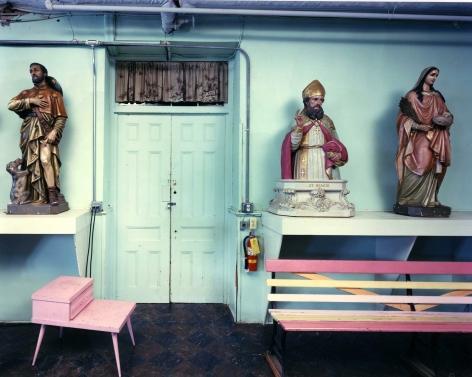 Bruce Wrighton Storage, St. Anthony of Padua's Roman Catholic Church Endicott, NY, 1986